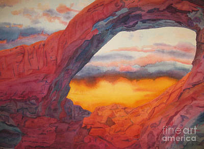 Arch Element Too Art Print by Vikki Wicks