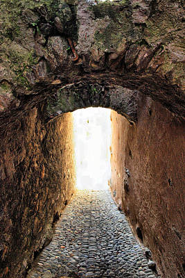 Arch In The Alley Art Print by Ettore Zani
