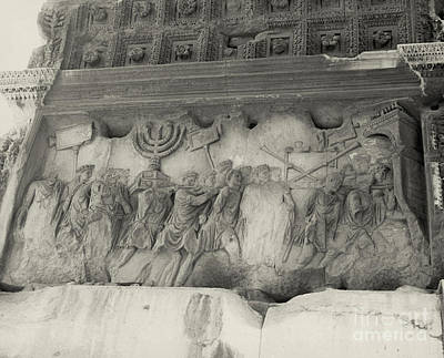 Arch Of Titus, Rome, Italy Print by Photo Researchers, Inc.