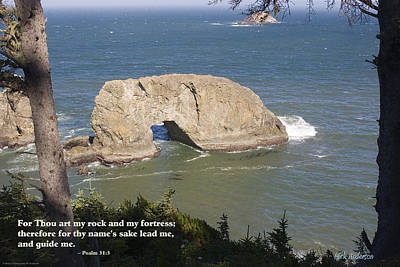 Photograph - Arch Rock by Mick Anderson