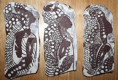 Ceramic Art - Archangels 2 by Gloria Ssali