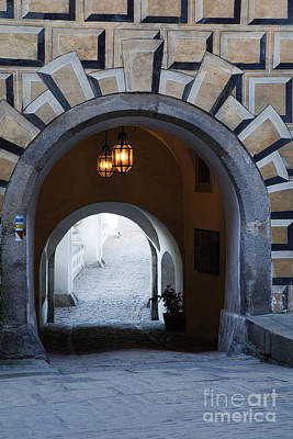 Arched Walkway Art Print by David Buffington