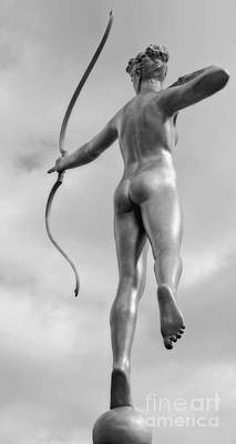 Photograph - Archer In Black And White by Kathleen K Parker