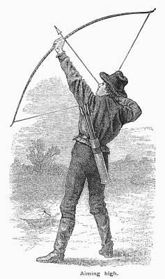 Archery, C1880s Art Print by Granger