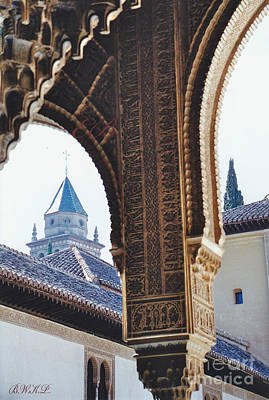 Photograph - Arches And Spires by Barbara Plattenburg