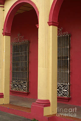 Photograph - Arches And Windows Veracruz Mexico by John  Mitchell