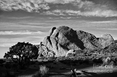 Photograph - Arches Black And White by Wilma  Birdwell