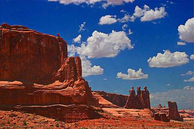 Photograph - Arches National Park  by Carrie OBrien Sibley