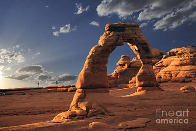 Photograph - Arches National Park Delicate Arch by Dan Friend