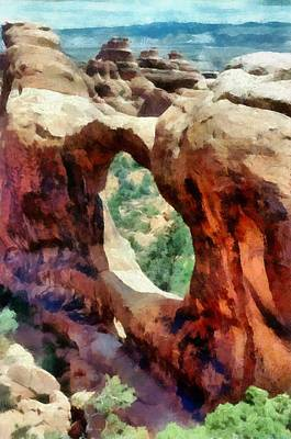 Photograph - Arches National Park by Michelle Calkins