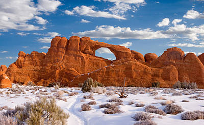 Slickrock Photograph - Arches National Park by Utah Images