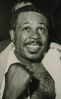 Archie Moore 1916-1998 Held The World Art Print by Everett