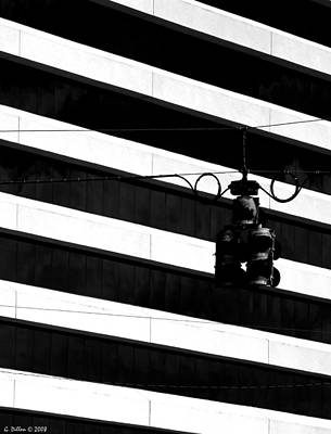 Photograph - Architectual Abstract In Black And White by Grace Dillon