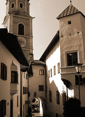 Photograph - Architecture Of Castelrotto by Donna Corless