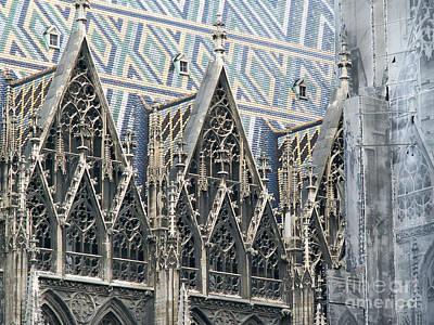 Architecture Of Vienna Art Print by Evgeny Pisarev