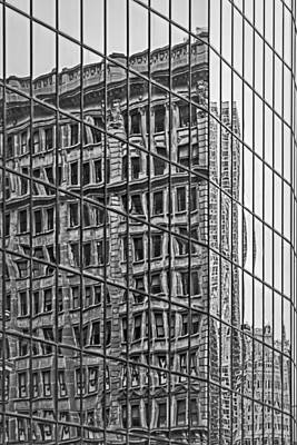 Empire State Photograph - Architecture Reflections by Susan Candelario