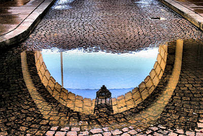 Archway Reflections Art Print by Steven Ainsworth