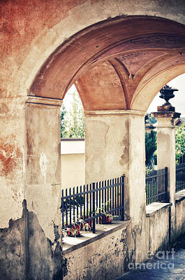 Photograph - Archway by Silvia Ganora