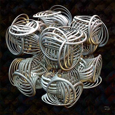 Digital Art - Arcos by Manny Lorenzo