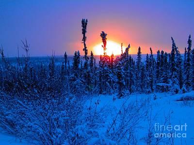 Photograph - Arctic Atomic Sunrise by Adam Owen