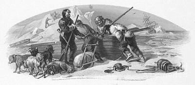 Arctic Exploration, 1856 Art Print