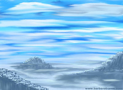 Digital Art - Arctic Melody by Barbara Burns