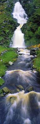 Ardara, Co Donegal, Ireland Waterfall Art Print by The Irish Image Collection