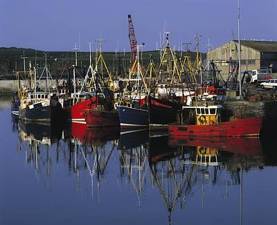 Ardglass, Co Down, Ireland Fishing Art Print by The Irish Image Collection