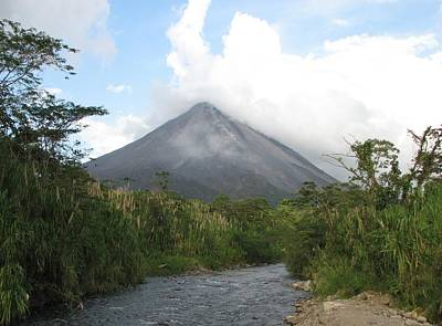 Photograph - Arenal Volcano by Keith Stokes
