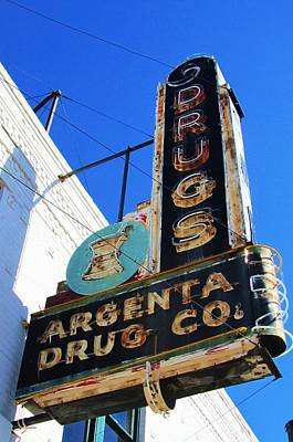 Argenta Drug Co. Print by Todd Sherlock