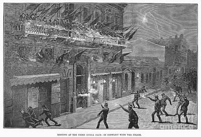 Argentina: Election, 1892 Art Print