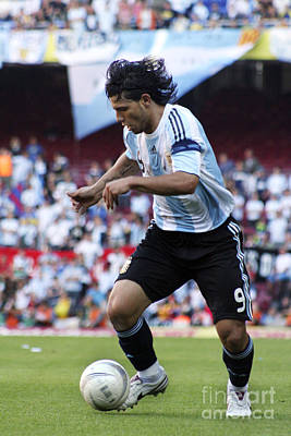 Photograph - Argentina National Team Player by Agusti Pardo Rossello