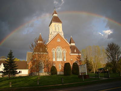 Photograph - Argyle Presbyterian Church by Mark Haley
