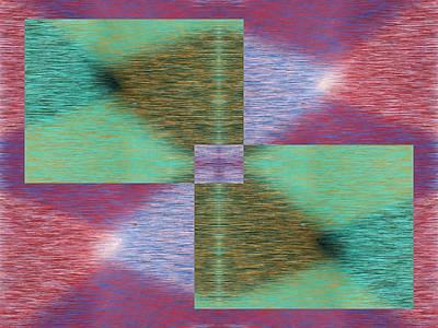 Digital Art - Argyle Seam 2 by Tim Allen