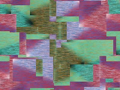 Digital Art - Argyle Seam 3 by Tim Allen