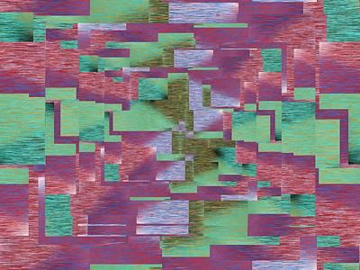 Digital Art - Argyle Seam 4 by Tim Allen