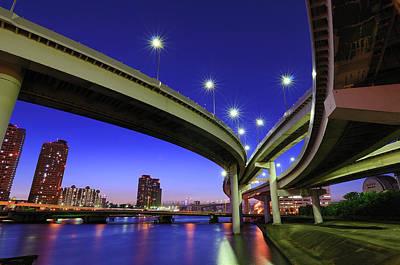 Built Structure Photograph - Ariake Junction by Takuya Igarashi