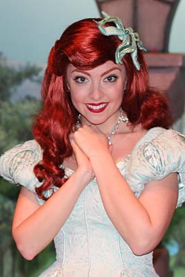 Disney Character Photograph - Ariel by Heidi Smith
