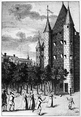 Aristocrat Prisoners, C1793 Art Print by Granger