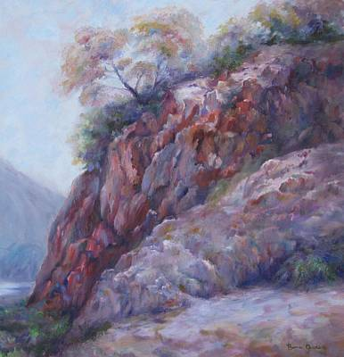 Painting - Arizona Cliff by Bonnie Goedecke
