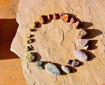 Photograph - Arizona Colorwheel by Sarah Gayle Carter
