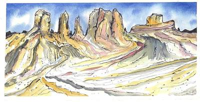 Arizona Landscape Art Print