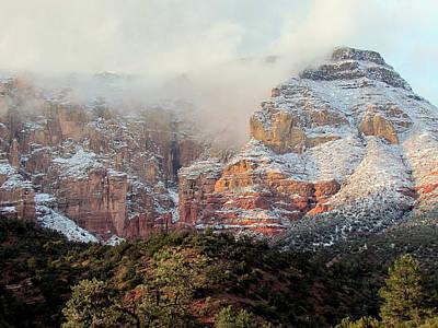 Photograph - Arizona Snowstorm by Judy Wanamaker