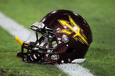 Arizona State Helmet Print by Getty Images