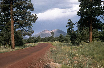 Photograph - Arizona: Sunset Crater by Granger