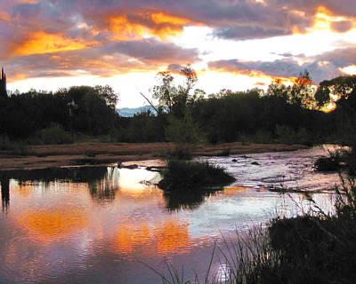 Photograph - Arizona Sunset by Eva Rau
