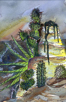 Arizonia Rocks Art Print