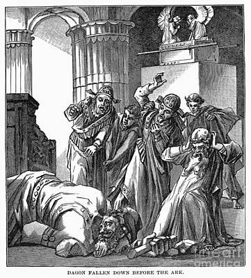 Ark Of The Covenant Art Print by Granger