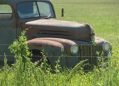 Photograph - Arkansas Pickup by Todd Sherlock