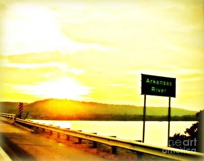 Photograph - Arkansas River by J Kinion